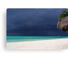 Approaching Storm - Caribbean Sea Canvas Print
