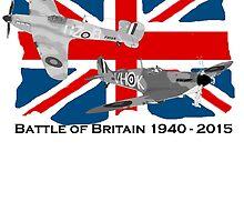 Battle of Britain 75th 1940 2015 by Radwulf