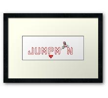 RexklessWear - Jumpman Framed Print