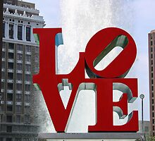 Love Park by Chris  Bradshaw