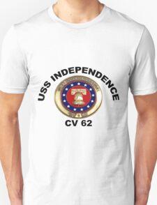 USS Independence (CV/CVA-62) Crest T-Shirt
