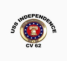 USS Independence (CV/CVA-62) Crest Unisex T-Shirt