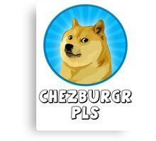 Doge Meme Canvas Print