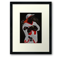 Weapons and drugs Framed Print