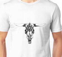 Compass ox skull Unisex T-Shirt