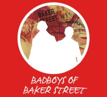 Bad Boys of Baker Street Modern Edition (White) by KitsuneDesigns