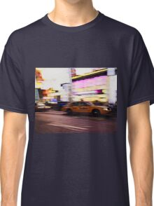 New York City, Taxi at Times Square Classic T-Shirt