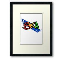 Ska Graffiti Style (1) Framed Print