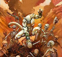 Demon Rage by Philip Lawvere