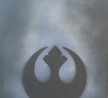 Blue Steam Rebel Alliance by PeonyPaints