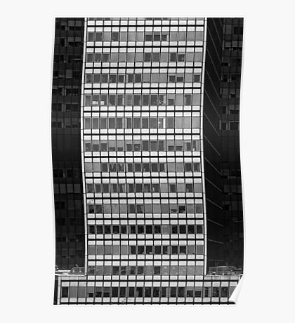 Office Building Lower Manhattan NYC Poster