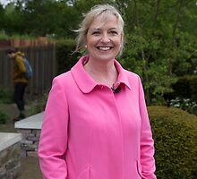 Carol Kirkwood BBC Weather presenter by Keith Larby