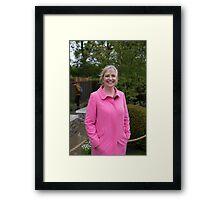 Carol Kirkwood BBC Weather presenter Framed Print