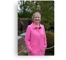 Carol Kirkwood BBC Weather presenter Canvas Print