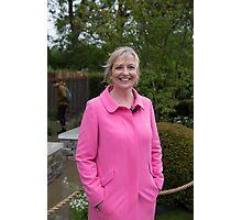 Carol Kirkwood BBC Weather presenter Photographic Print