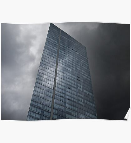Sky and Office Building Poster