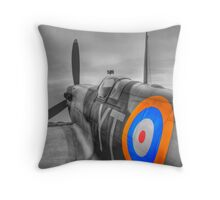 The Spitfire Throw Pillow