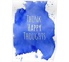Happy Thoughts Poster