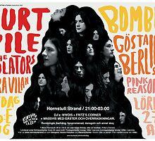 Kurt Vile / WWDIS Festival Poster by M&E  Design