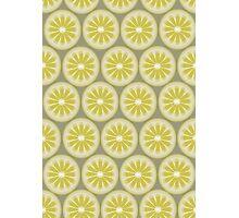 Lemon pattern design Photographic Print
