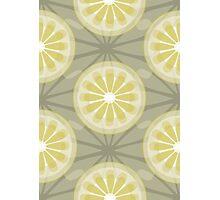 Lemon pattern design 2 Photographic Print