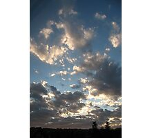 Sunrise in the Clouds Photographic Print