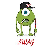 SWAG Mike Photographic Print
