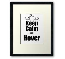 RC-Keep Calm Hover Framed Print