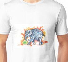 Green Ball Baby Elephant Unisex T-Shirt