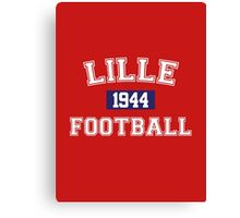 Lille Football Athletic College Style 1 Color Canvas Print