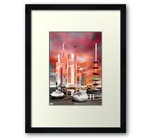 Easter City Framed Print