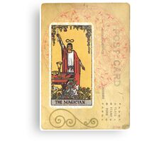The Magician Tarot Card Fortune Teller Metal Print
