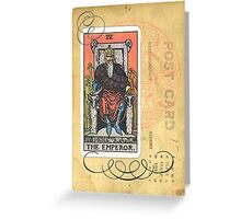 The Emperor Tarot Card Fortune Teller Greeting Card