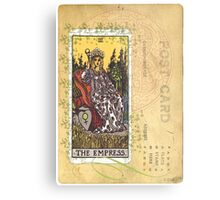 The Empress Tarot Card Fortune Teller Metal Print
