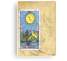 The Blue Moon Tarot Card Fortune Teller Metal Print