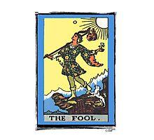 The Fool Tarot Card Photographic Print