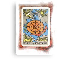 Wheel Of Fortune Tarot Card Metal Print