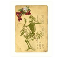 Day Of The Dead Dancer Cinco De Mayo Art Print