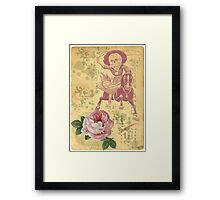 Day Of The Dead Cowgirl Cinco De Mayo Framed Print