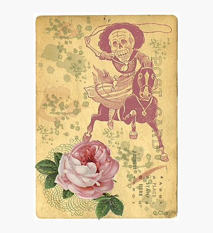 Day Of The Dead Cowgirl Cinco De Mayo Photographic Print