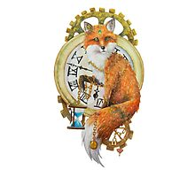 Fox; Keeper of Time Photographic Print