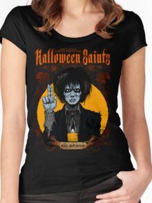 Halloween Saints: Billy Butcherson Women's Fitted Scoop T-Shirt