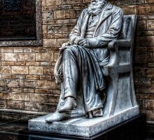 Charles Darwin at the Natural History Museum by Alan E Taylor