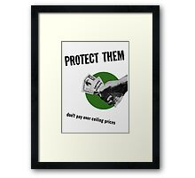 Don't Pay Over Ceiling Prices -- WW2 Framed Print