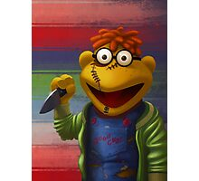 Muppet Maniac - Scooter as Chucky Photographic Print