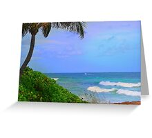 Tropical Breeze  Greeting Card