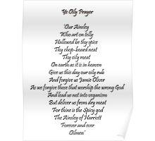 The Oily Prayer Poster