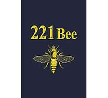 221Bee Photographic Print