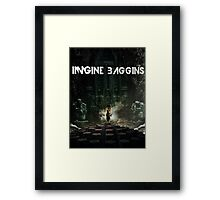 Imagine Baggins Framed Print