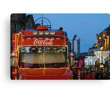 christmas cola ... Canvas Print